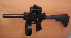 Пистолет пулемет Тирекс
